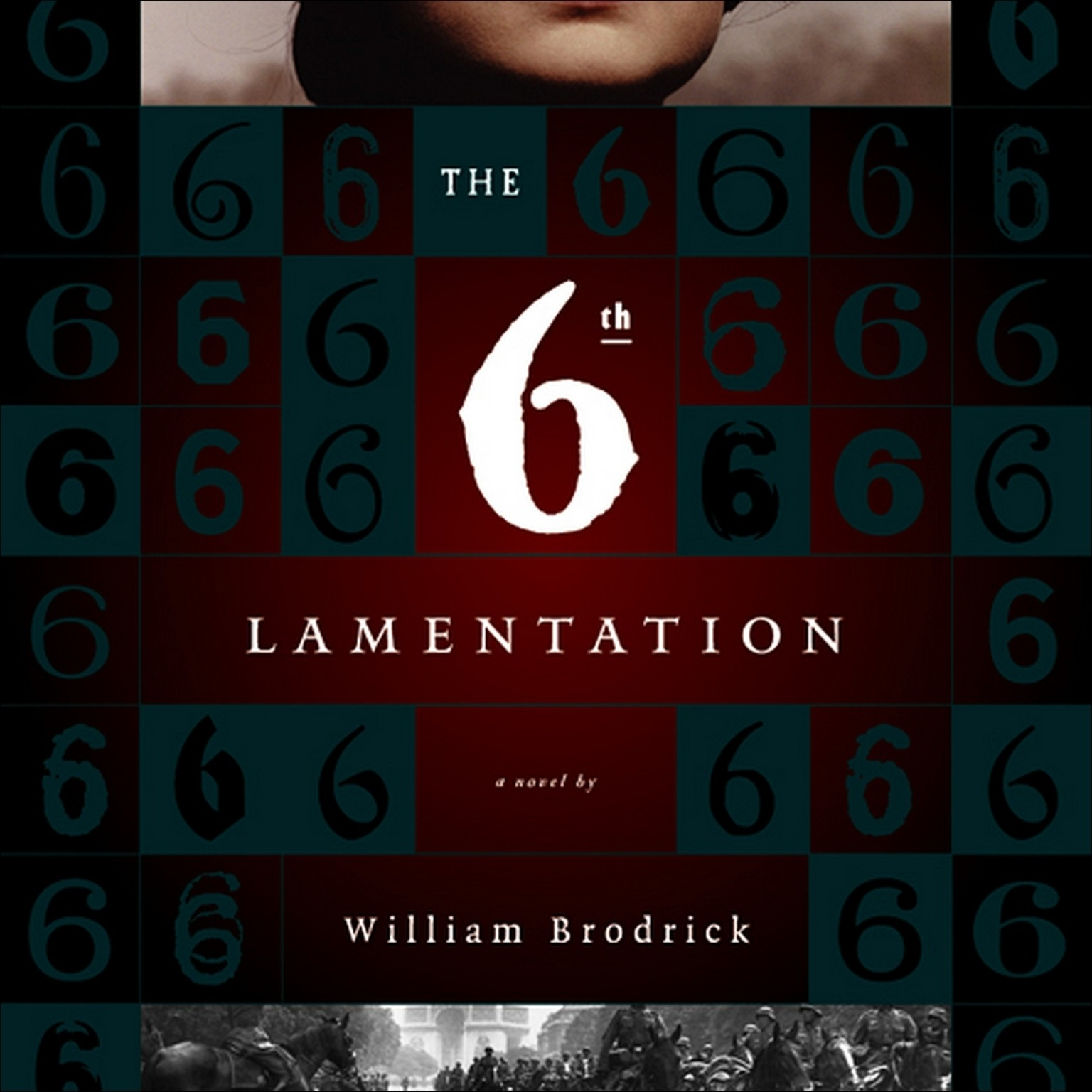 Printable The Sixth Lamentation Audiobook Cover Art