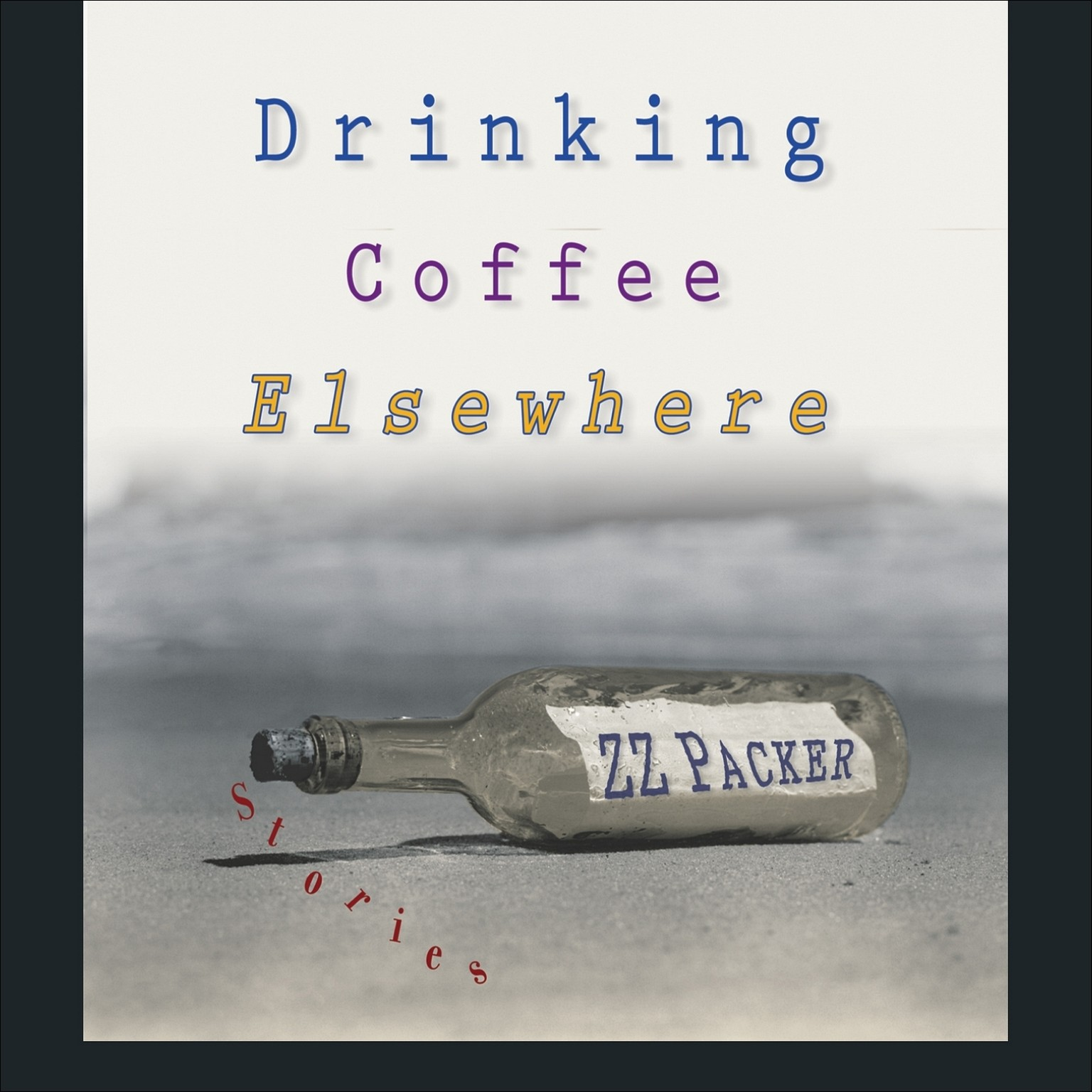 Printable Drinking Coffee Elsewhere Audiobook Cover Art
