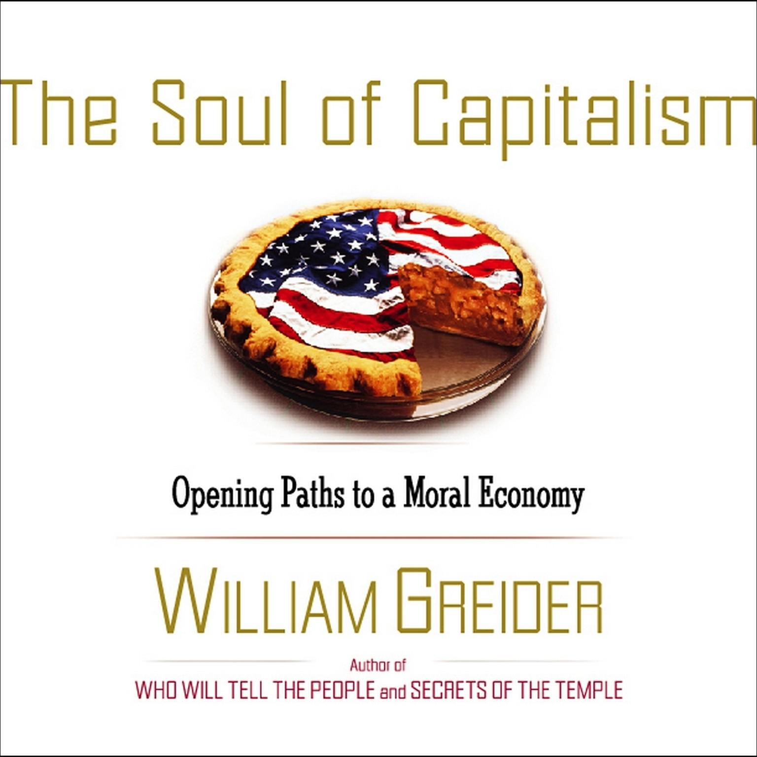 Printable The Soul of Capitalism: Opening Paths to a Moral Economy Audiobook Cover Art