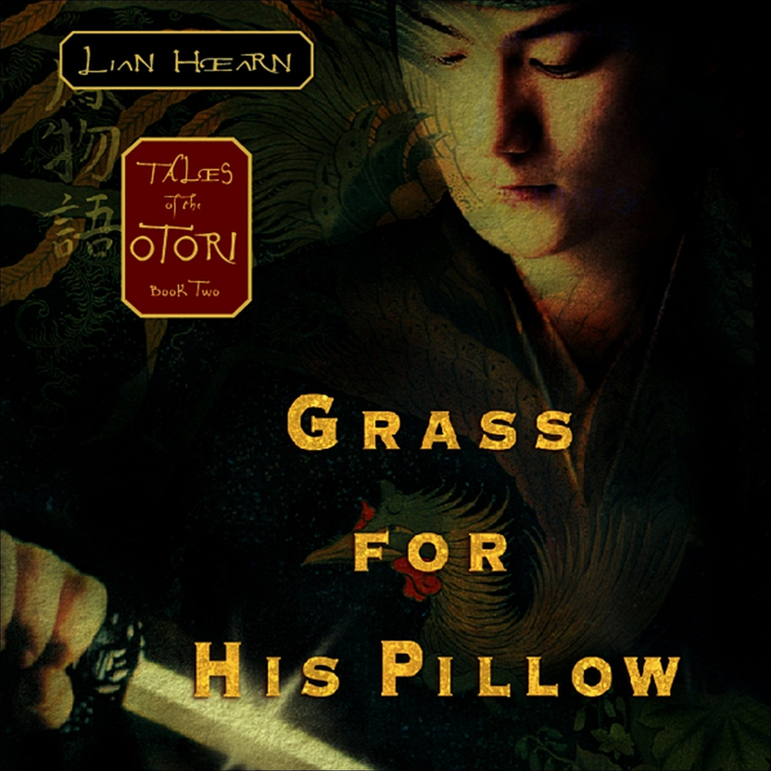 Printable Grass for His Pillow: Tales of the Otori Book Two Audiobook Cover Art