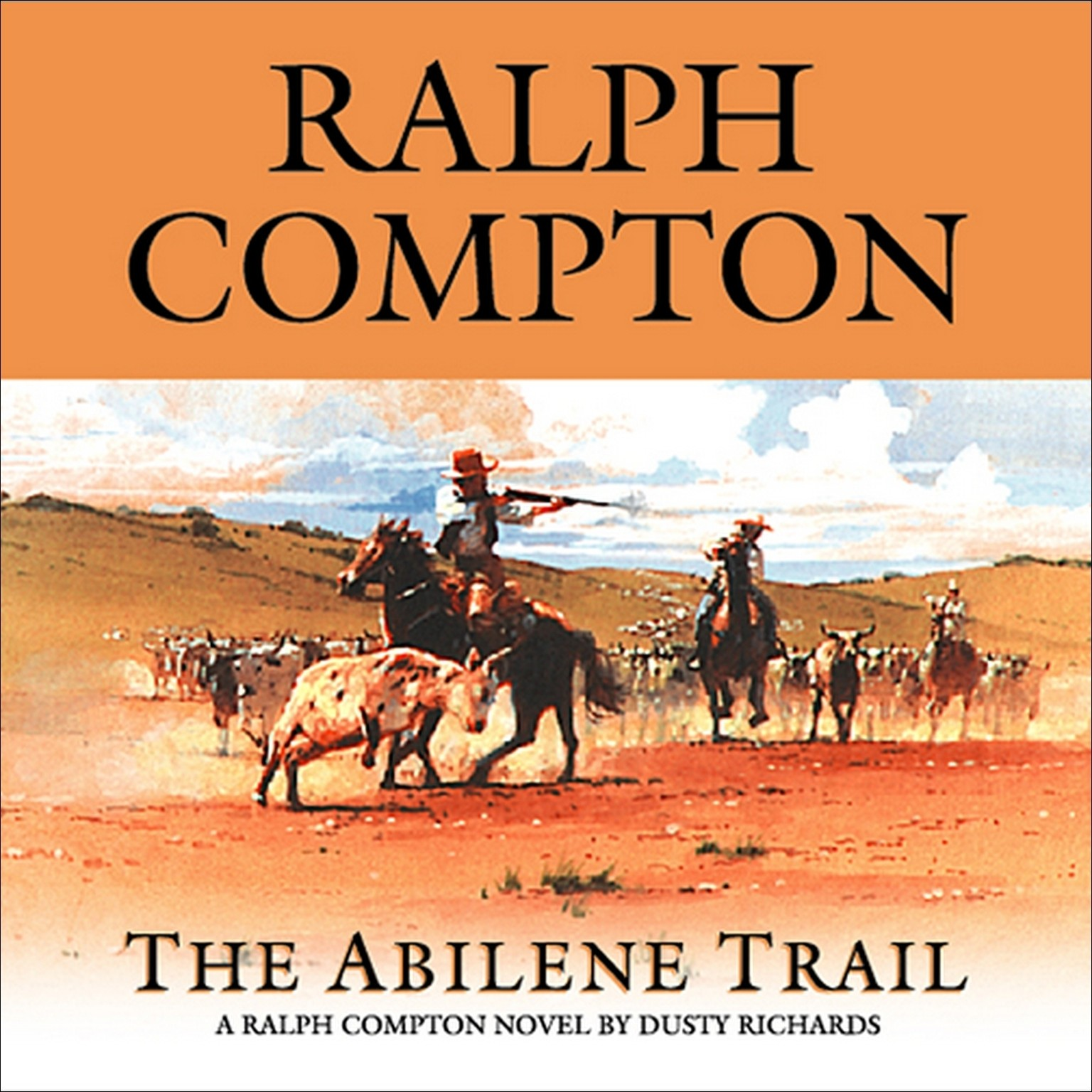 Printable The Abilene Trail Audiobook Cover Art