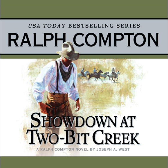 Printable Showdown at Two Bit Creek Audiobook Cover Art