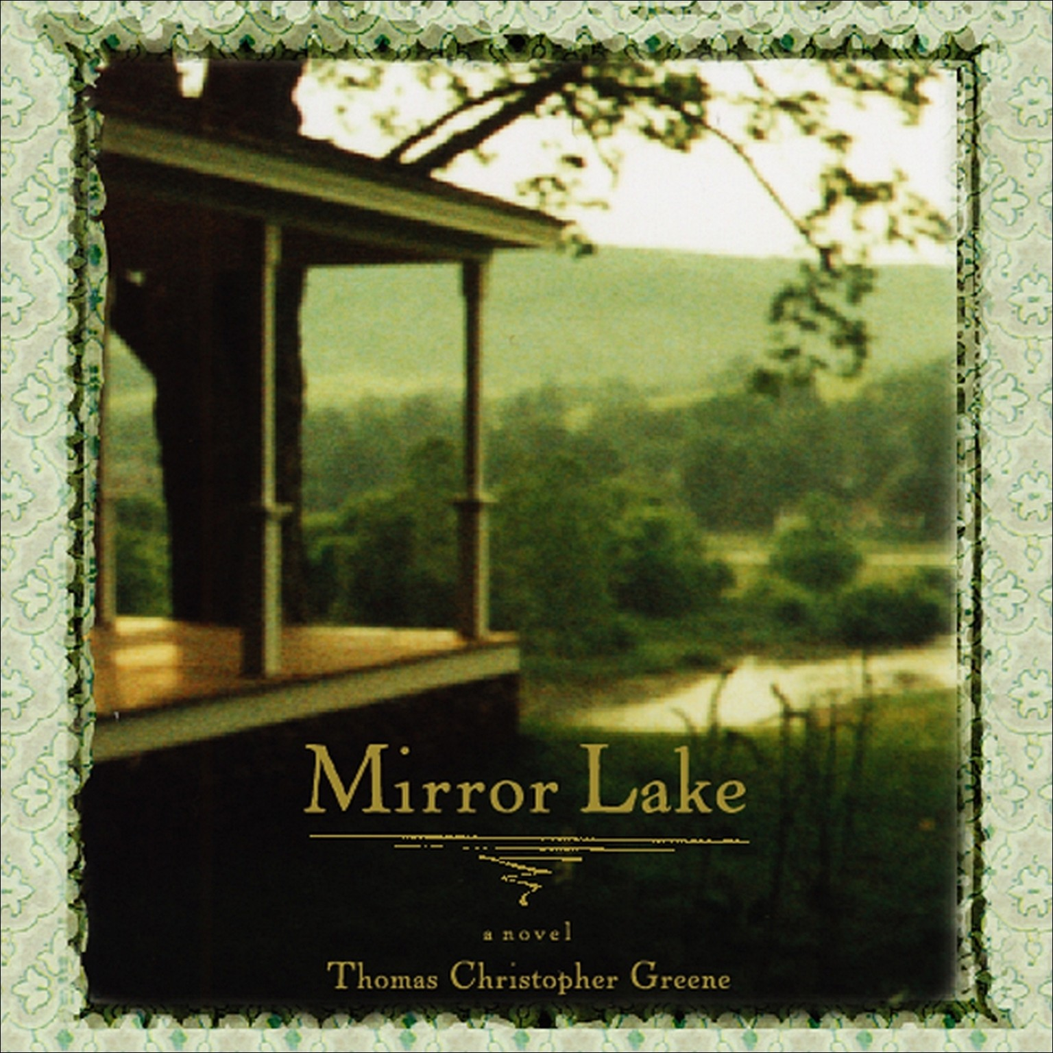 Printable Mirror Lake Audiobook Cover Art