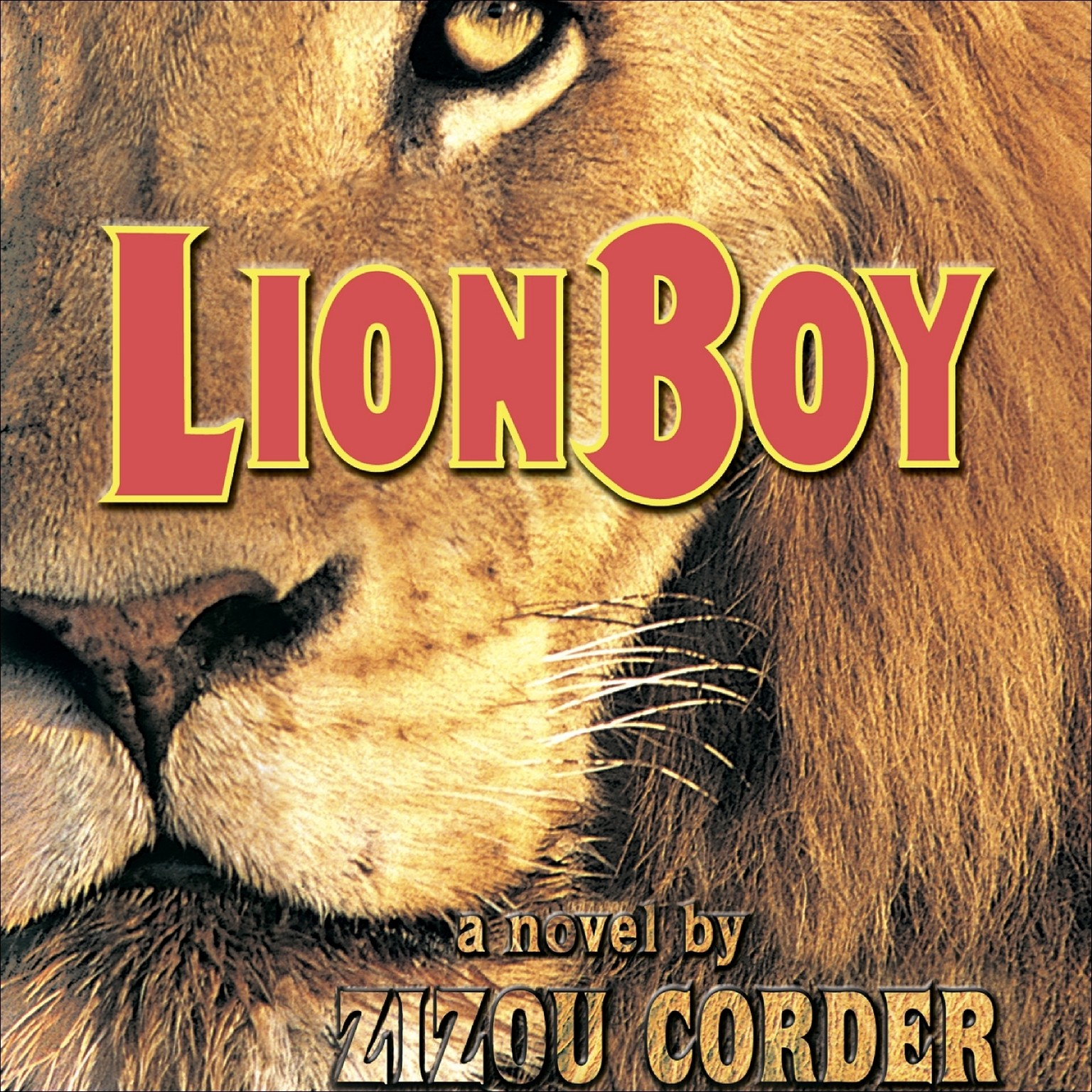 Printable Lionboy Audiobook Cover Art
