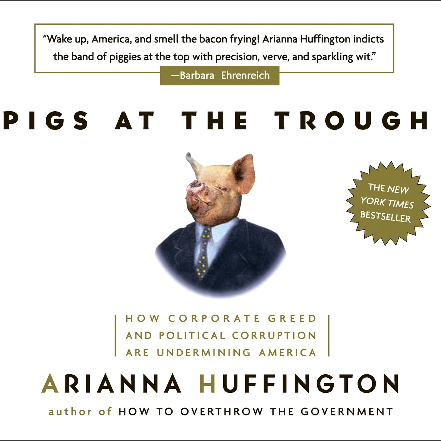 Printable Pigs at the Trough: How Corporate Greed and Political Corruption Are Undermining America Audiobook Cover Art