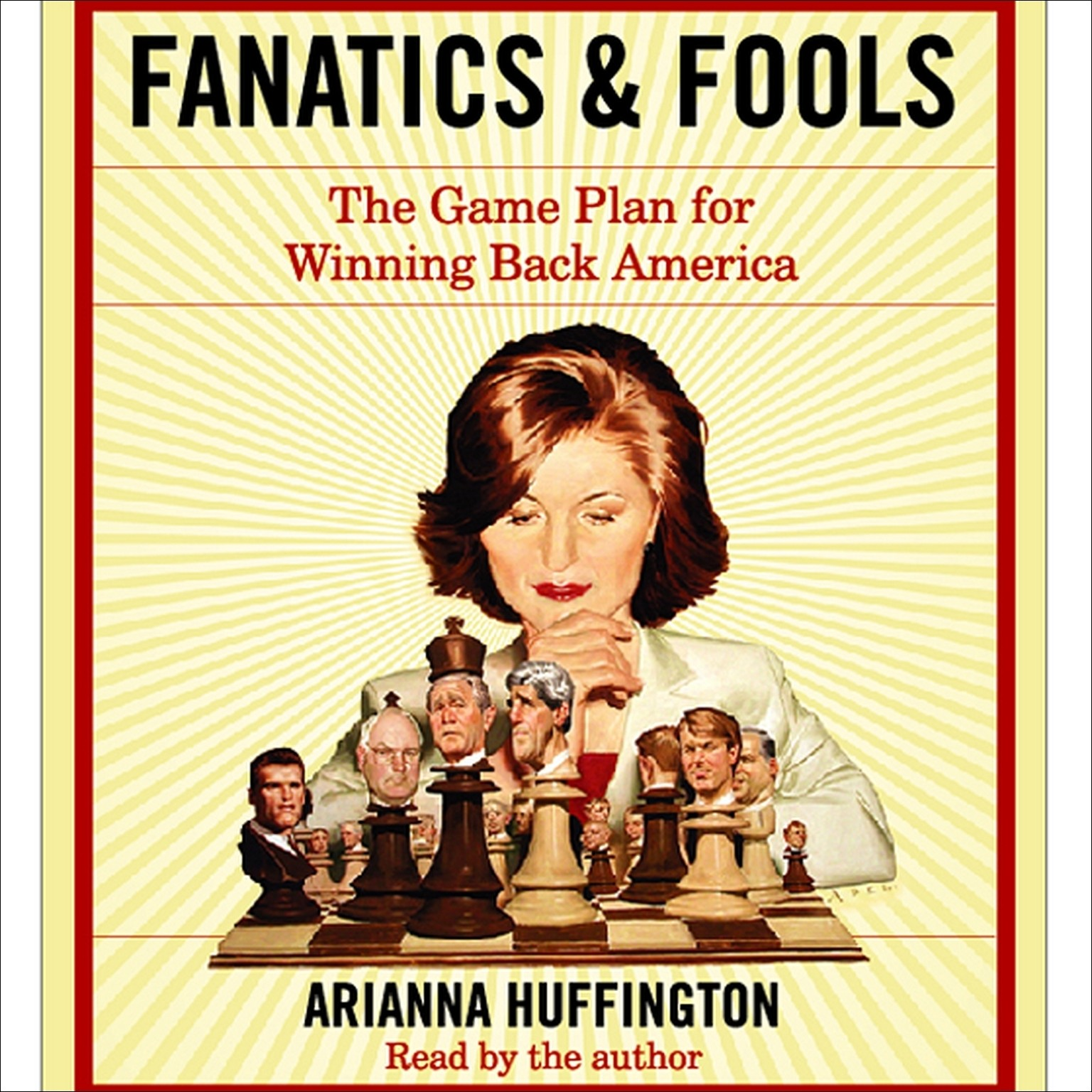 Printable Fanatics and Fools: How Politicians Are Betraying the American People Audiobook Cover Art