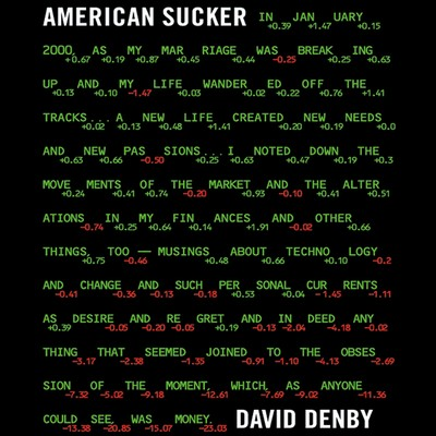 American Sucker Audiobook, by David Denby