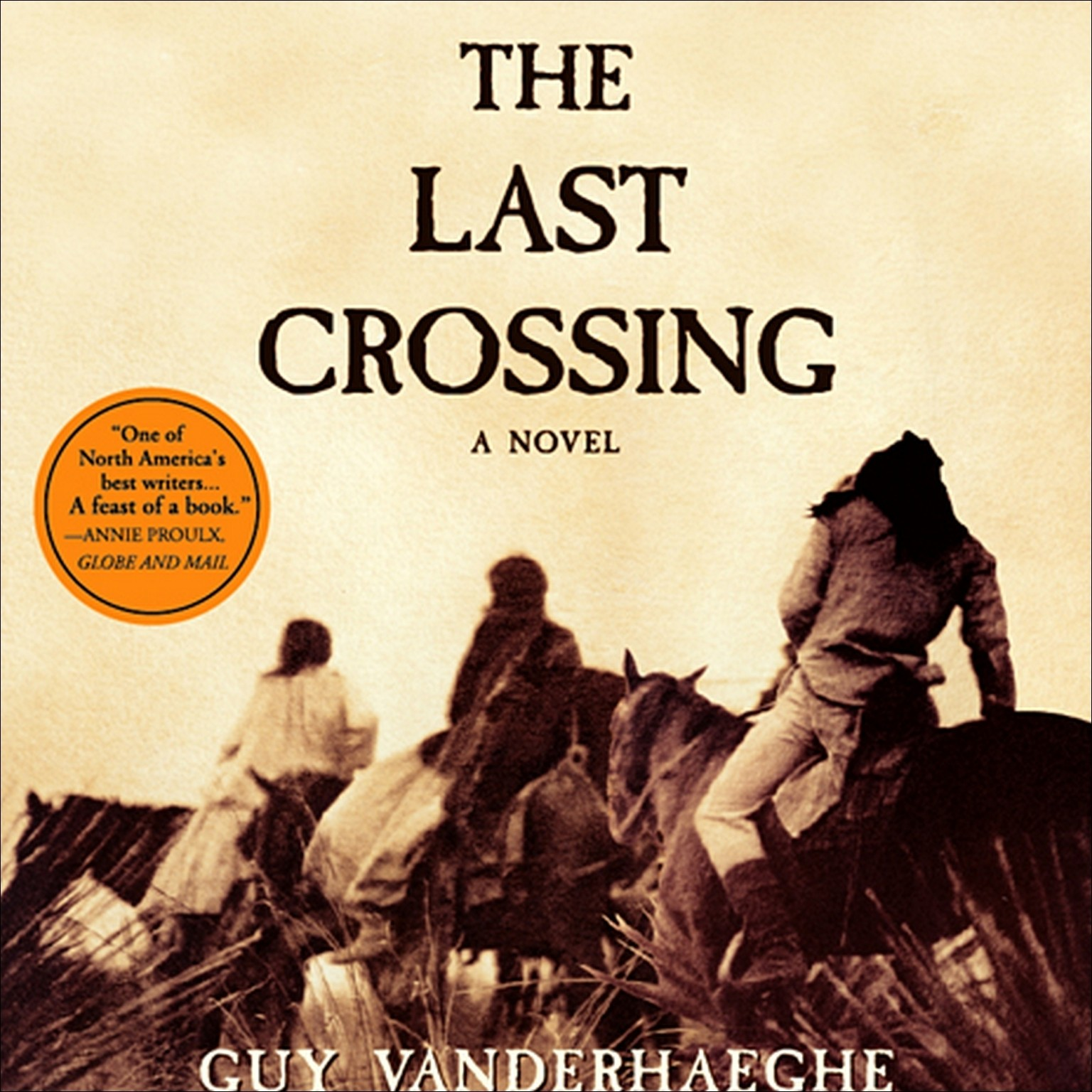 Printable The Last Crossing Audiobook Cover Art