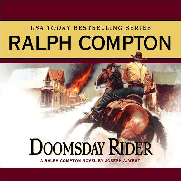 Printable Doomsday Rider Audiobook Cover Art