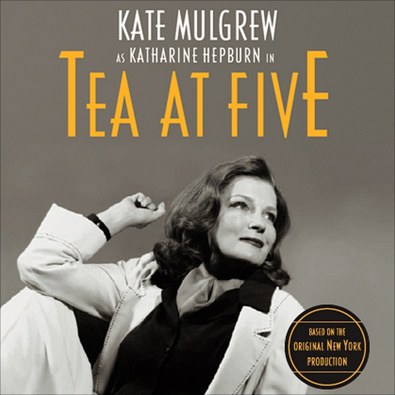 Printable Tea at Five Audiobook Cover Art