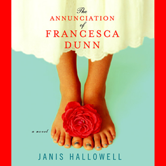Printable The Annunciation of Francesca Dunn Audiobook Cover Art