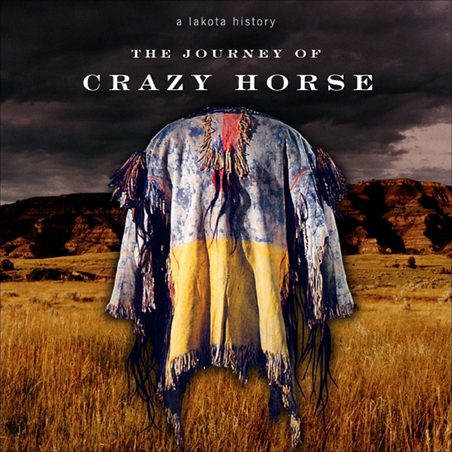 Printable The Journey of Crazy Horse: A Lakota History Audiobook Cover Art