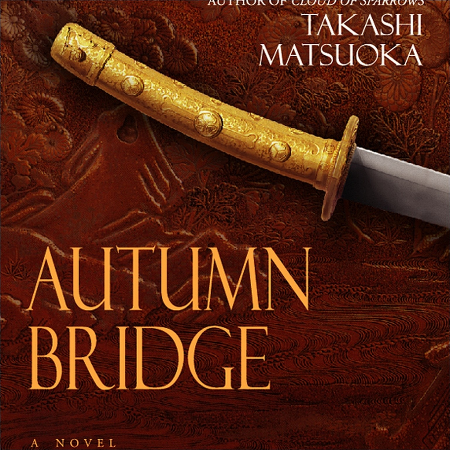 Printable Autumn Bridge Audiobook Cover Art