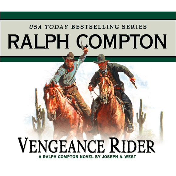 Printable Vengeance Rider Audiobook Cover Art