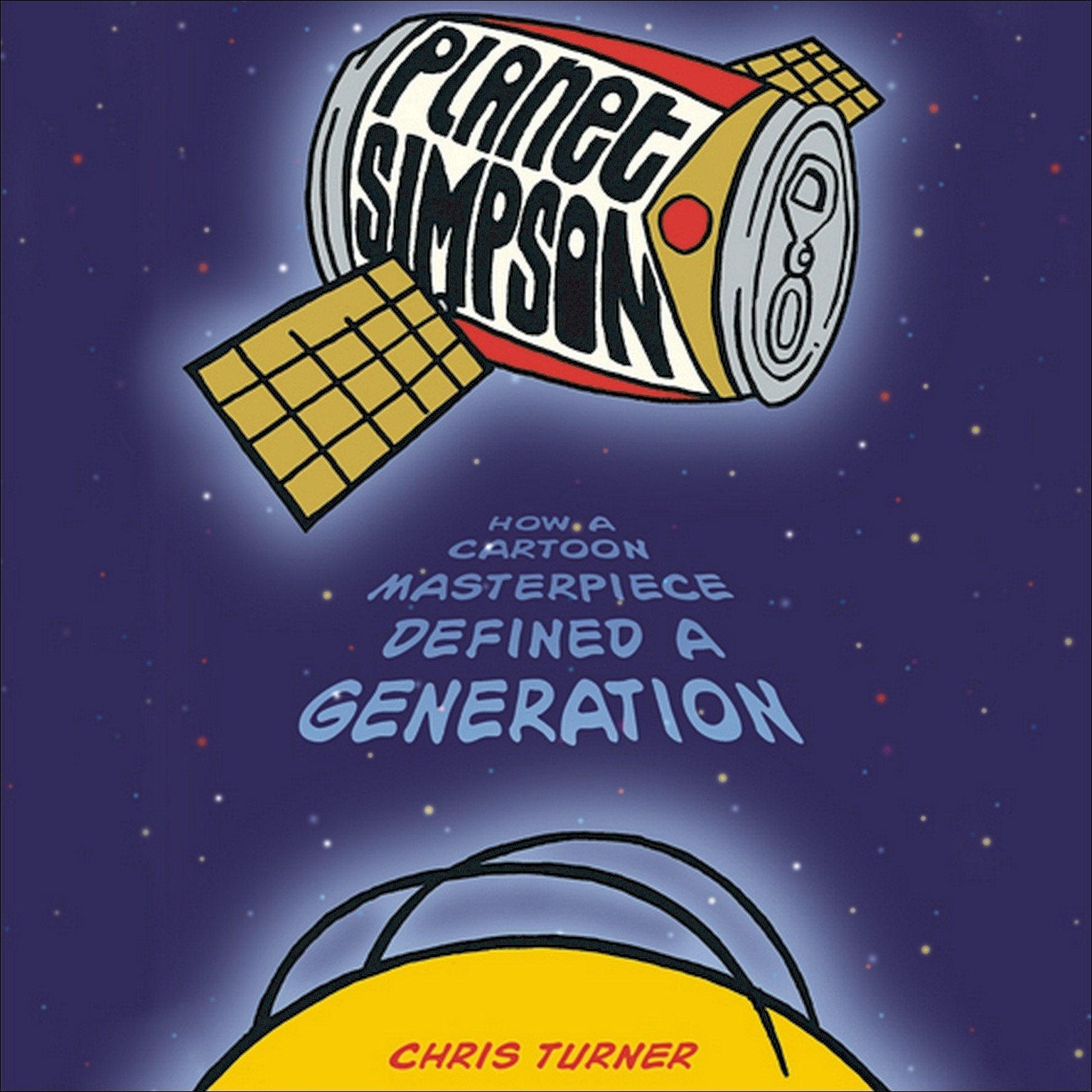 Printable Planet Simpson: How a Cartoon Masterpiece Documented an Era and Defined a Generation Audiobook Cover Art