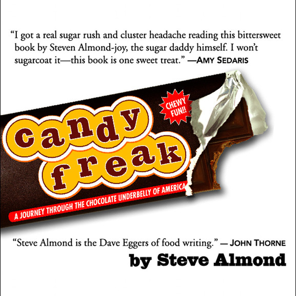 Printable Candyfreak: A Journey Through the Chocolate Underbelly of America Audiobook Cover Art