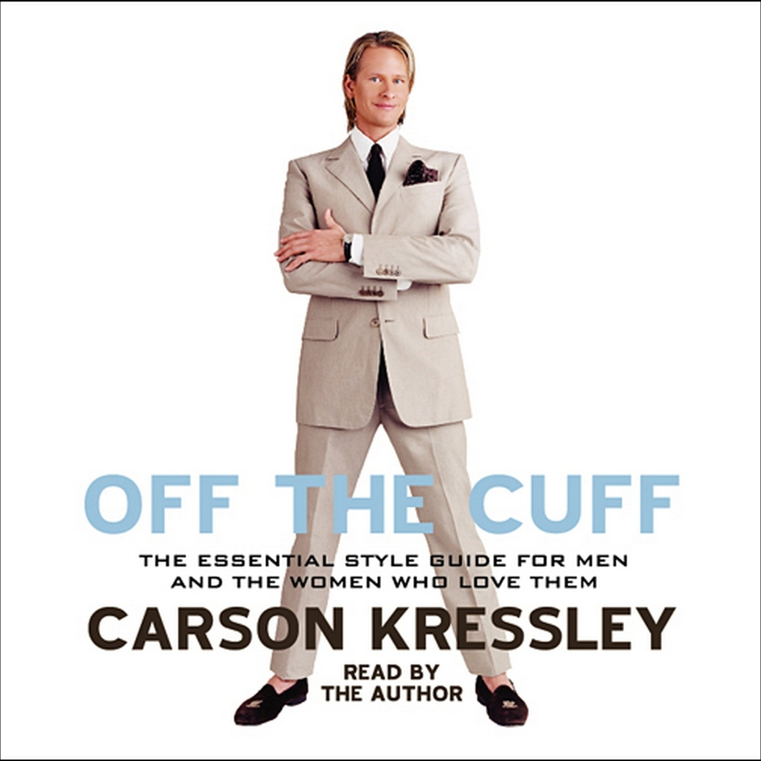 Printable Off the Cuff Audiobook Cover Art