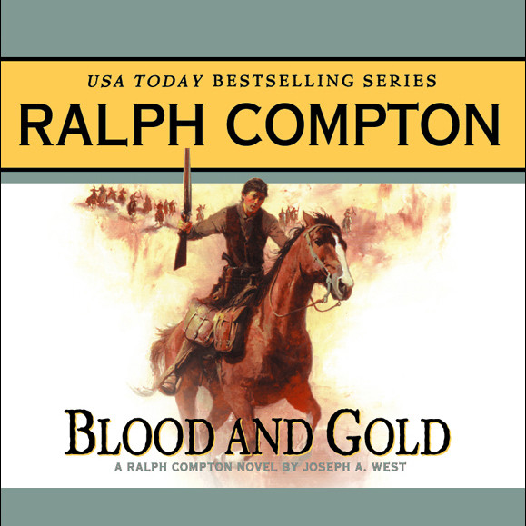 Printable Blood and Gold Audiobook Cover Art