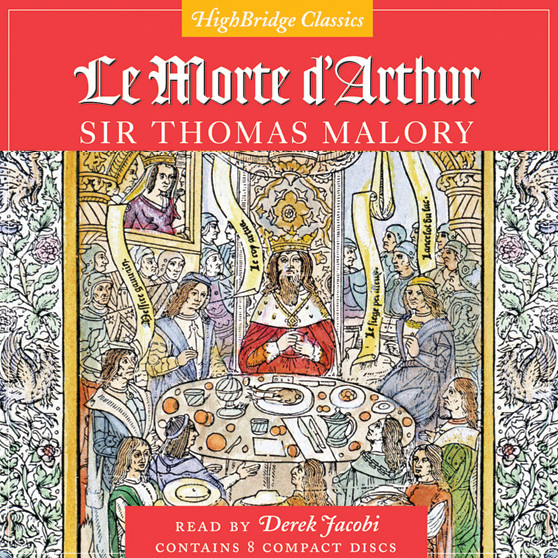 Printable Le Morte D'Arthur Audiobook Cover Art