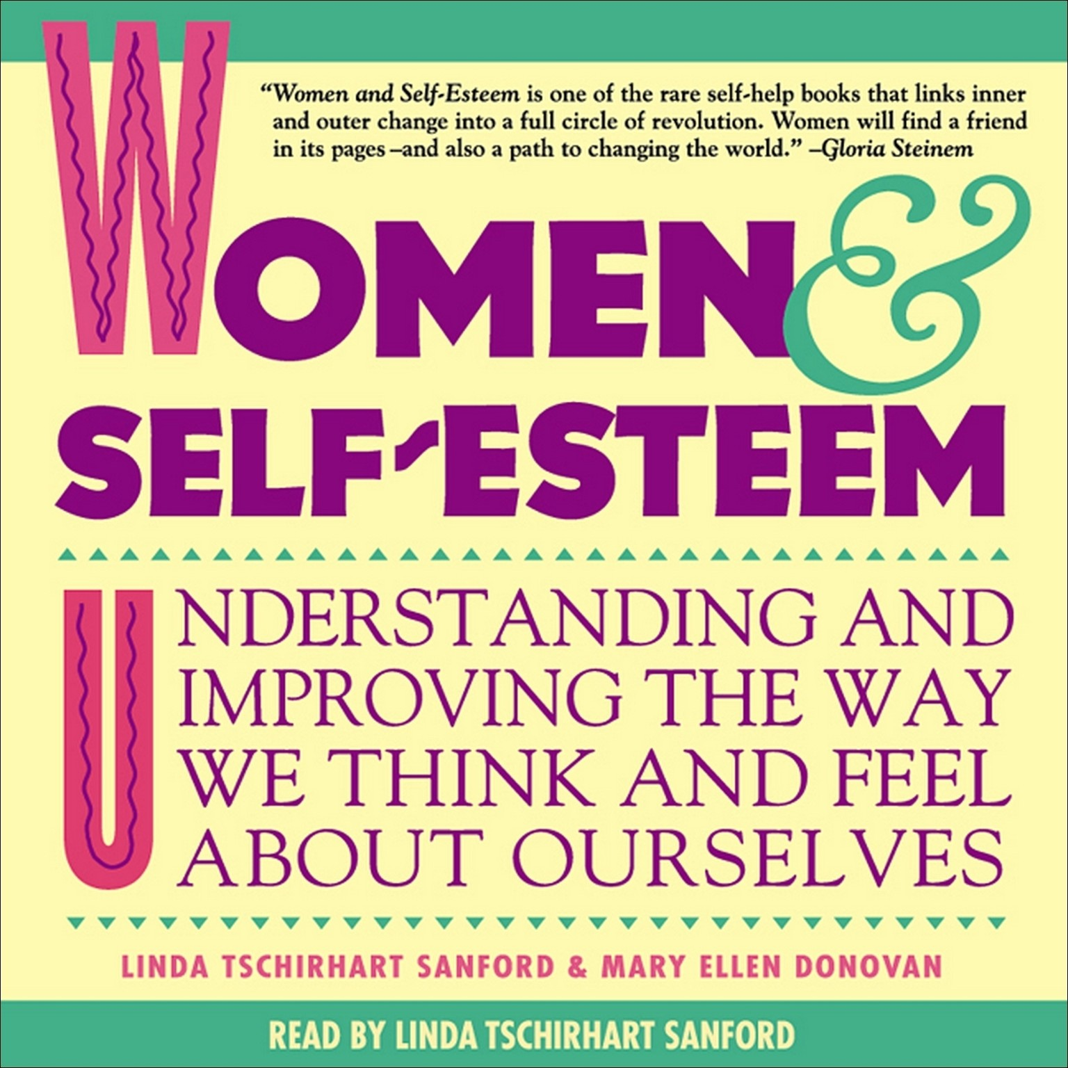 Printable Women & Self-Esteem: Understanding and Improving the Way We Think and Feel About Ourselves Audiobook Cover Art