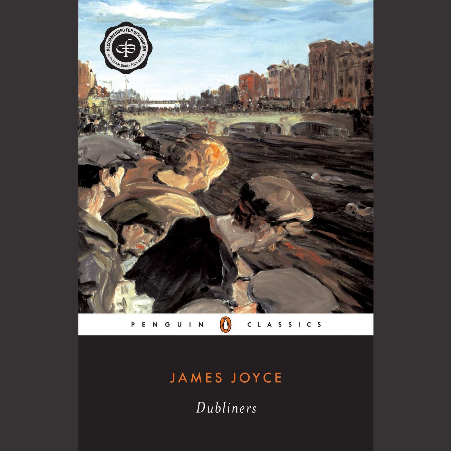 Printable Dubliners Audiobook Cover Art