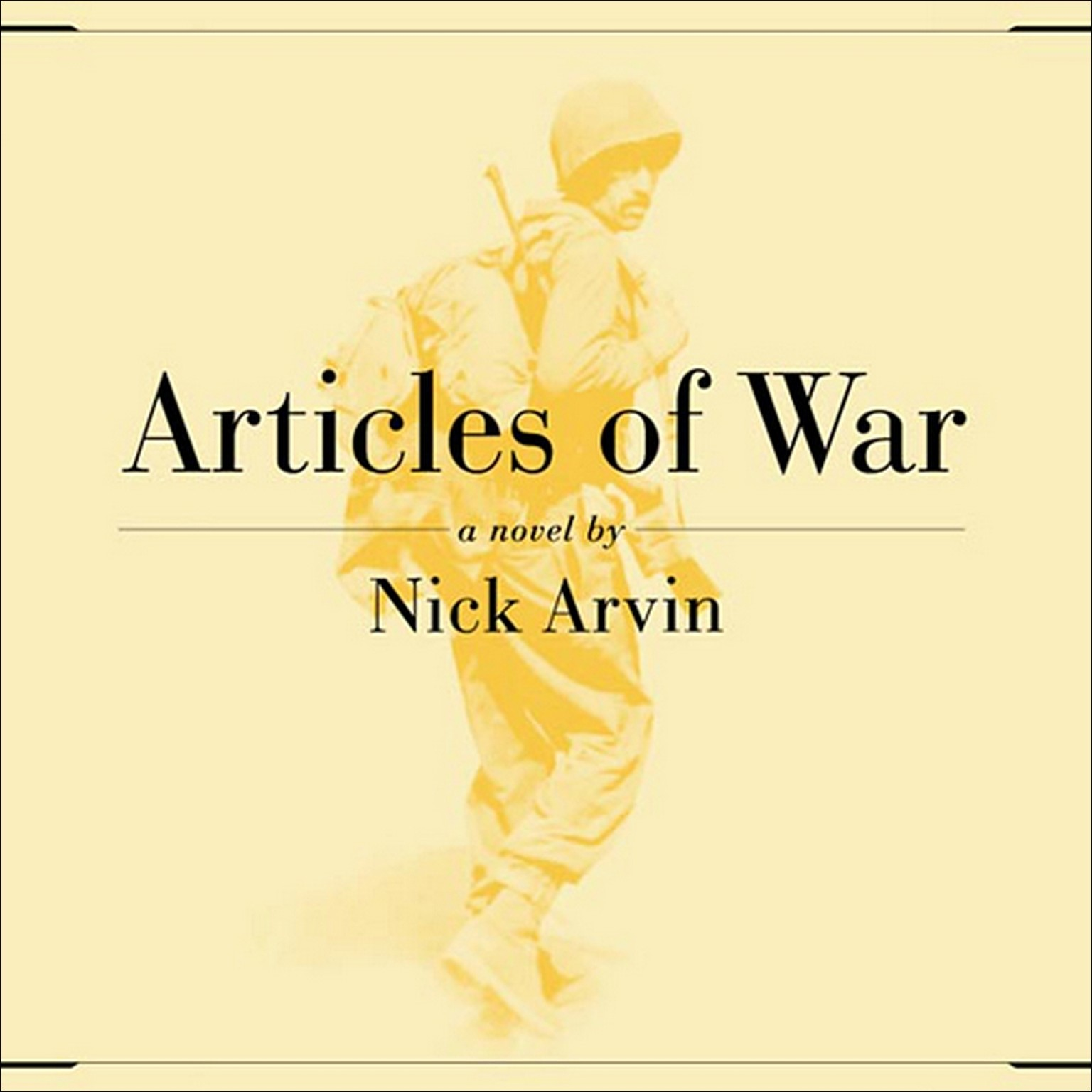 Printable Articles of War Audiobook Cover Art