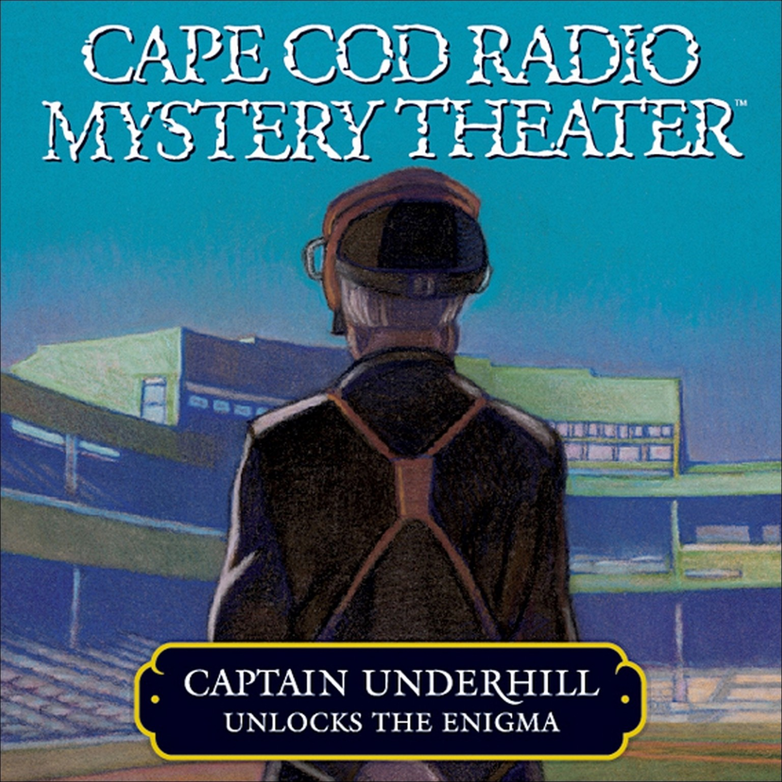 "Printable Captain Underhill Unlocks the Enigma: ""The Queen is in the Counting House"" and ""Don't Touch That Dial!"" Audiobook Cover Art"