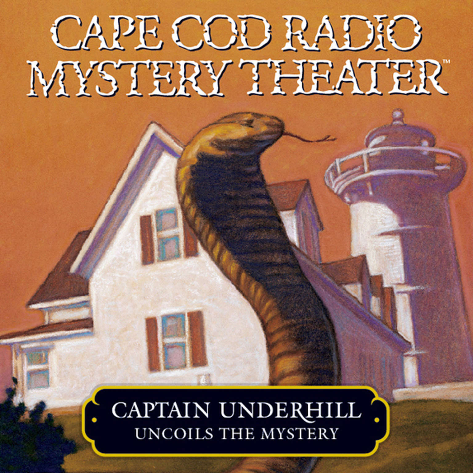 Printable Captain Underhill Uncoils the Mystery: The Cobra in the Kindergarten and the Whirlpool Audiobook Cover Art