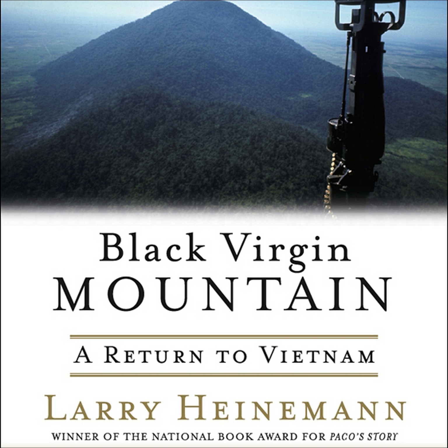 Printable Black Virgin Mountain: A Return to Vietnam Audiobook Cover Art