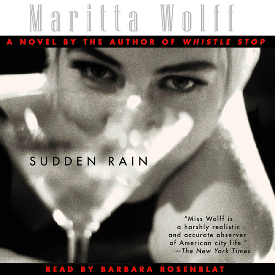 Printable Sudden Rain Audiobook Cover Art