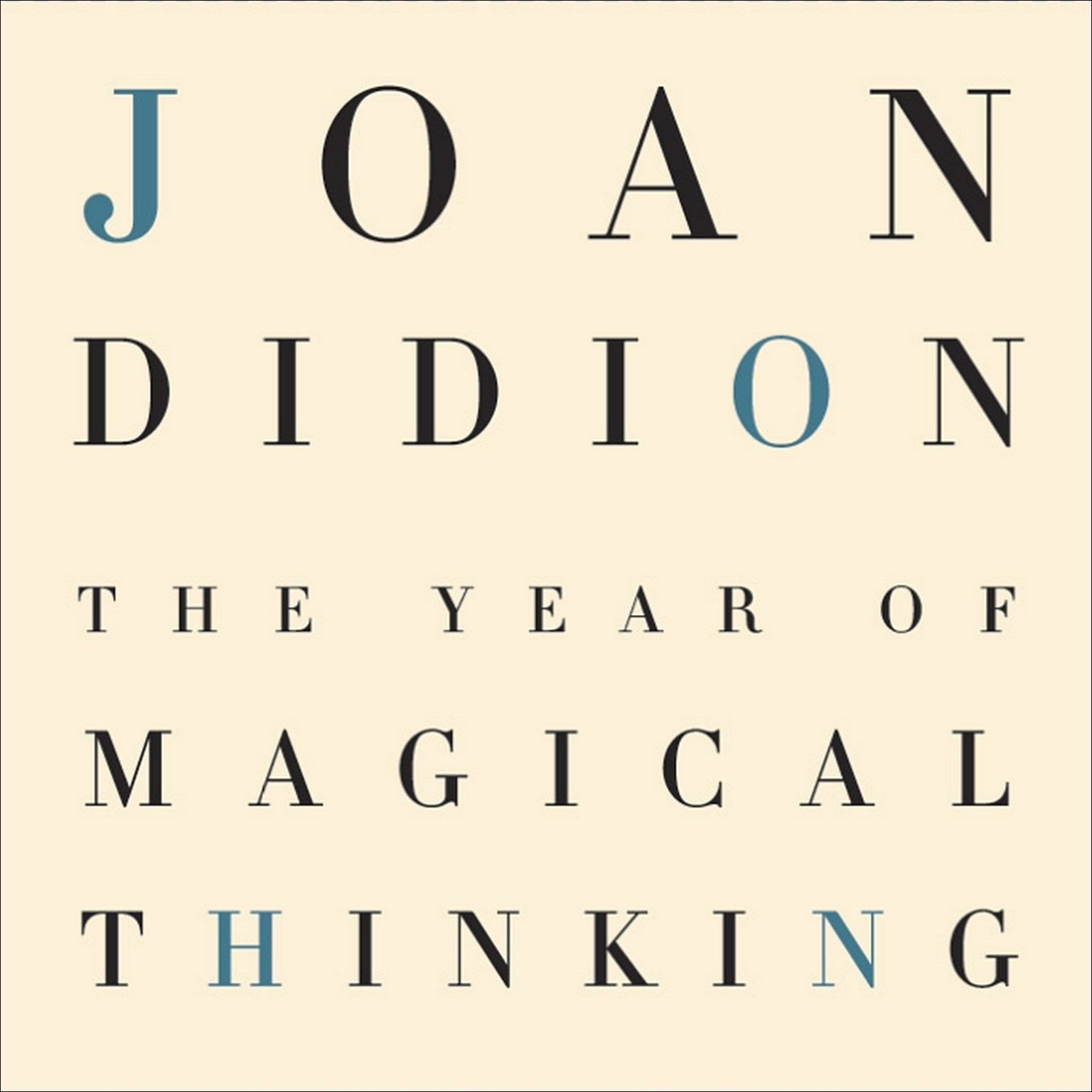 Printable The Year of Magical Thinking Audiobook Cover Art