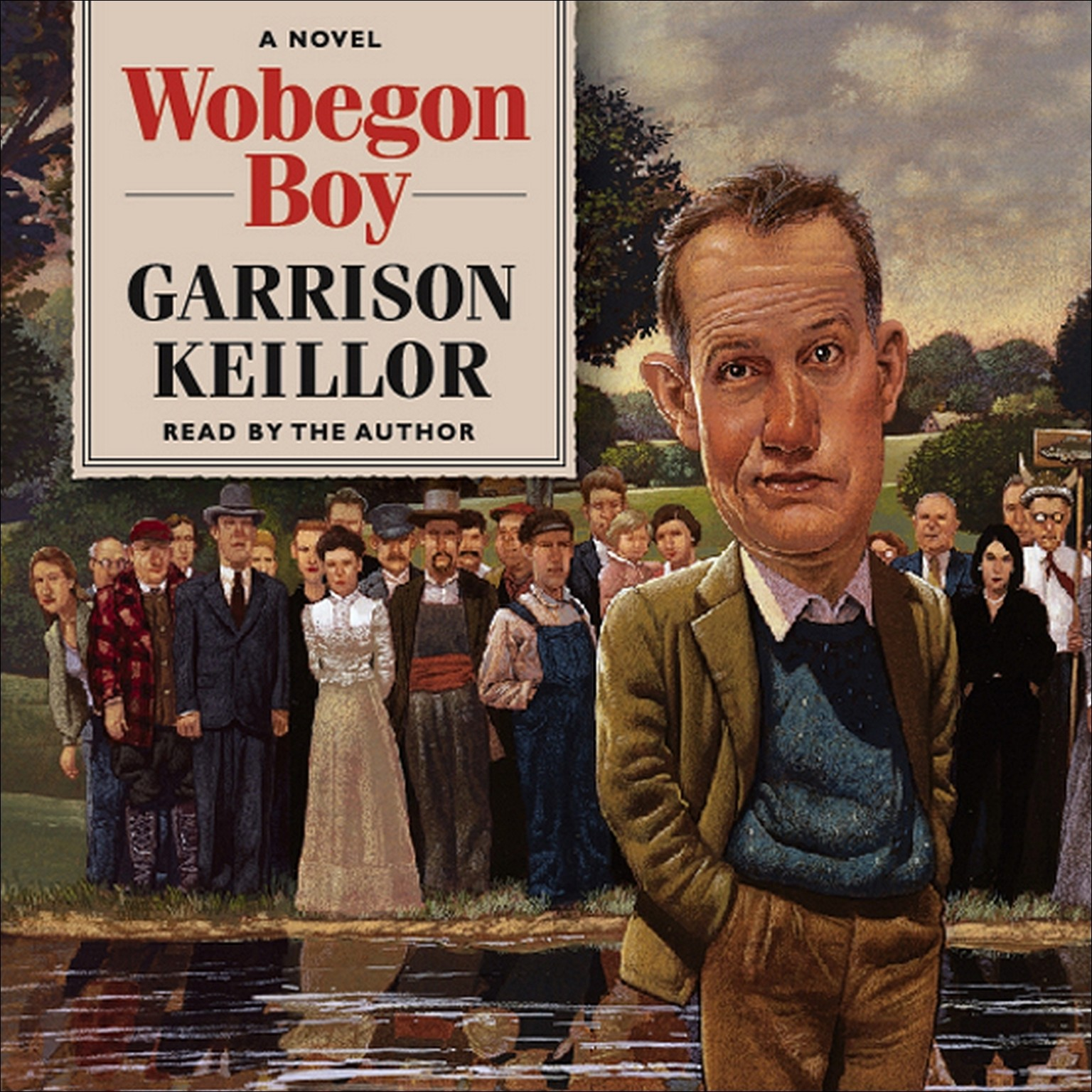 Printable Wobegon Boy Audiobook Cover Art
