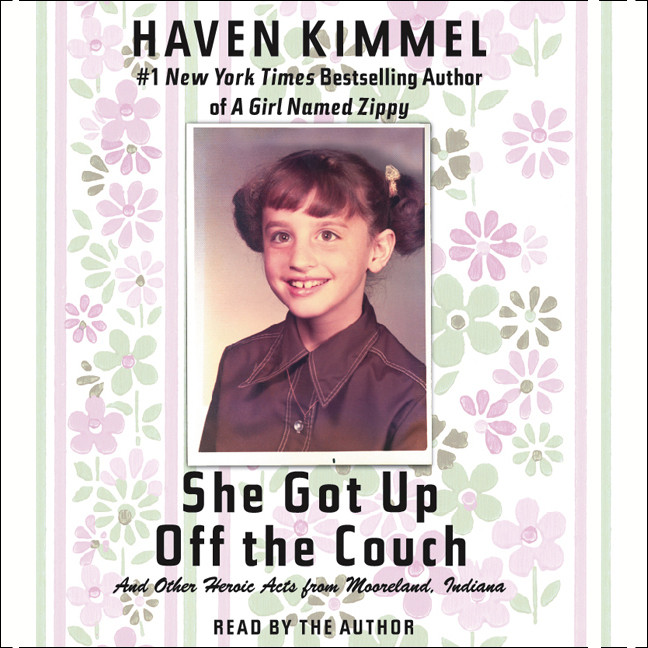 Printable She Got Up Off the Couch: And Other Heroic Acts from Mooreland, Indiana Audiobook Cover Art