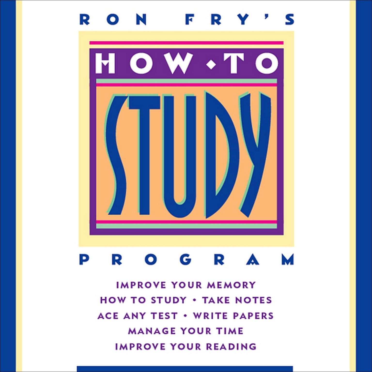 Printable How to Study Program Audiobook Cover Art