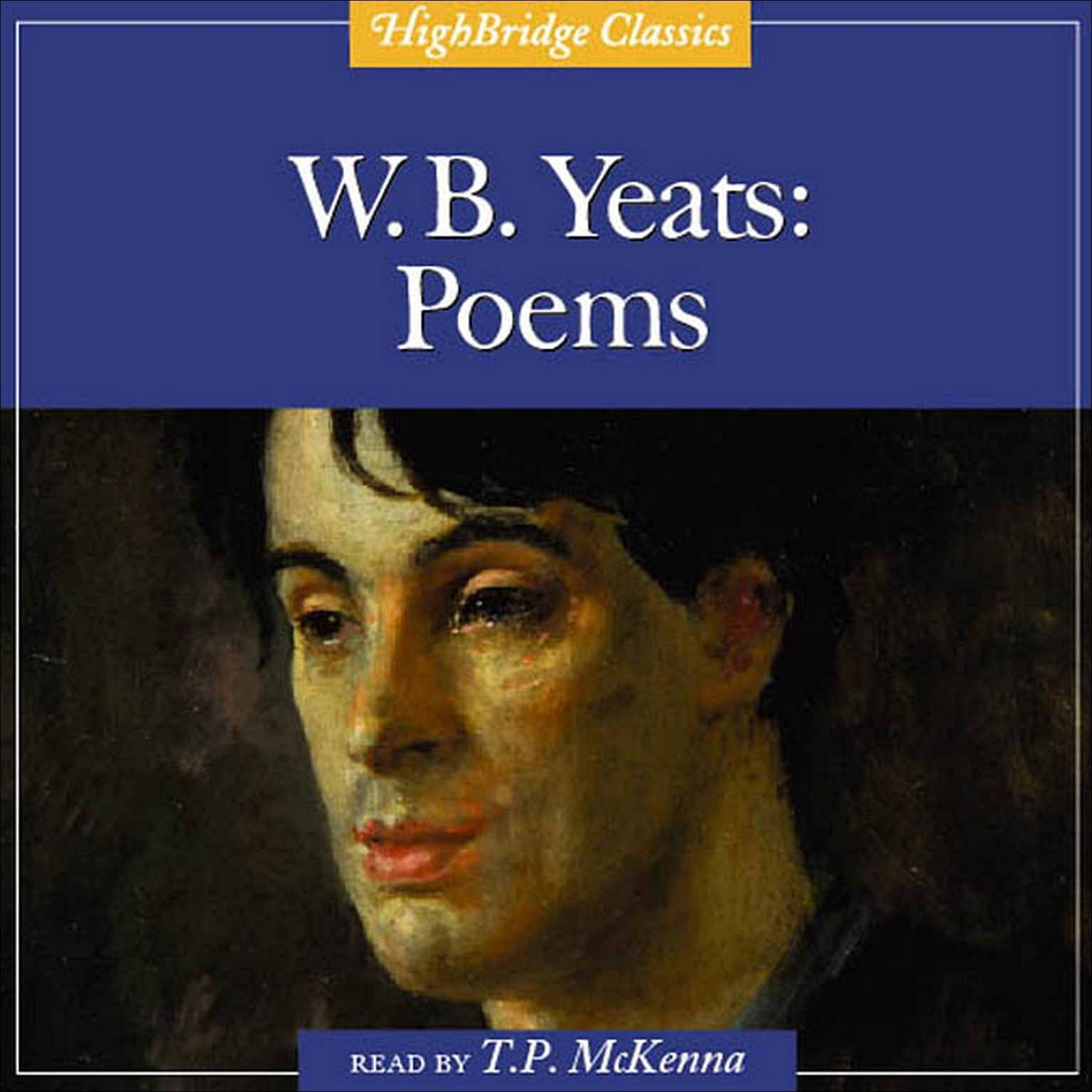 Printable W. B. Yeats: Poems Audiobook Cover Art