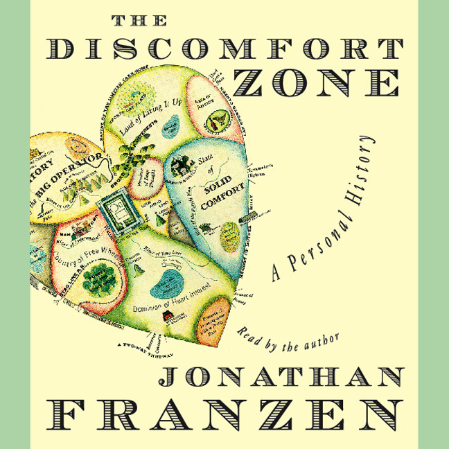 Printable The Discomfort Zone: A Personal History Audiobook Cover Art