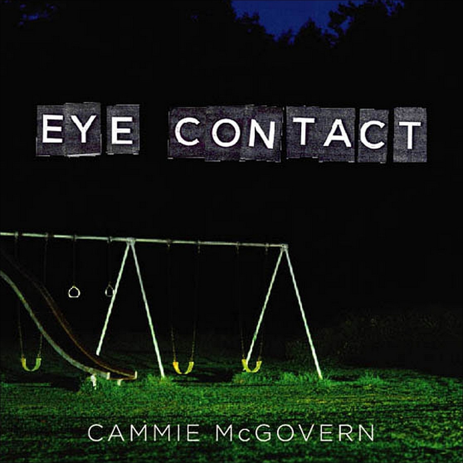 Printable Eye Contact Audiobook Cover Art