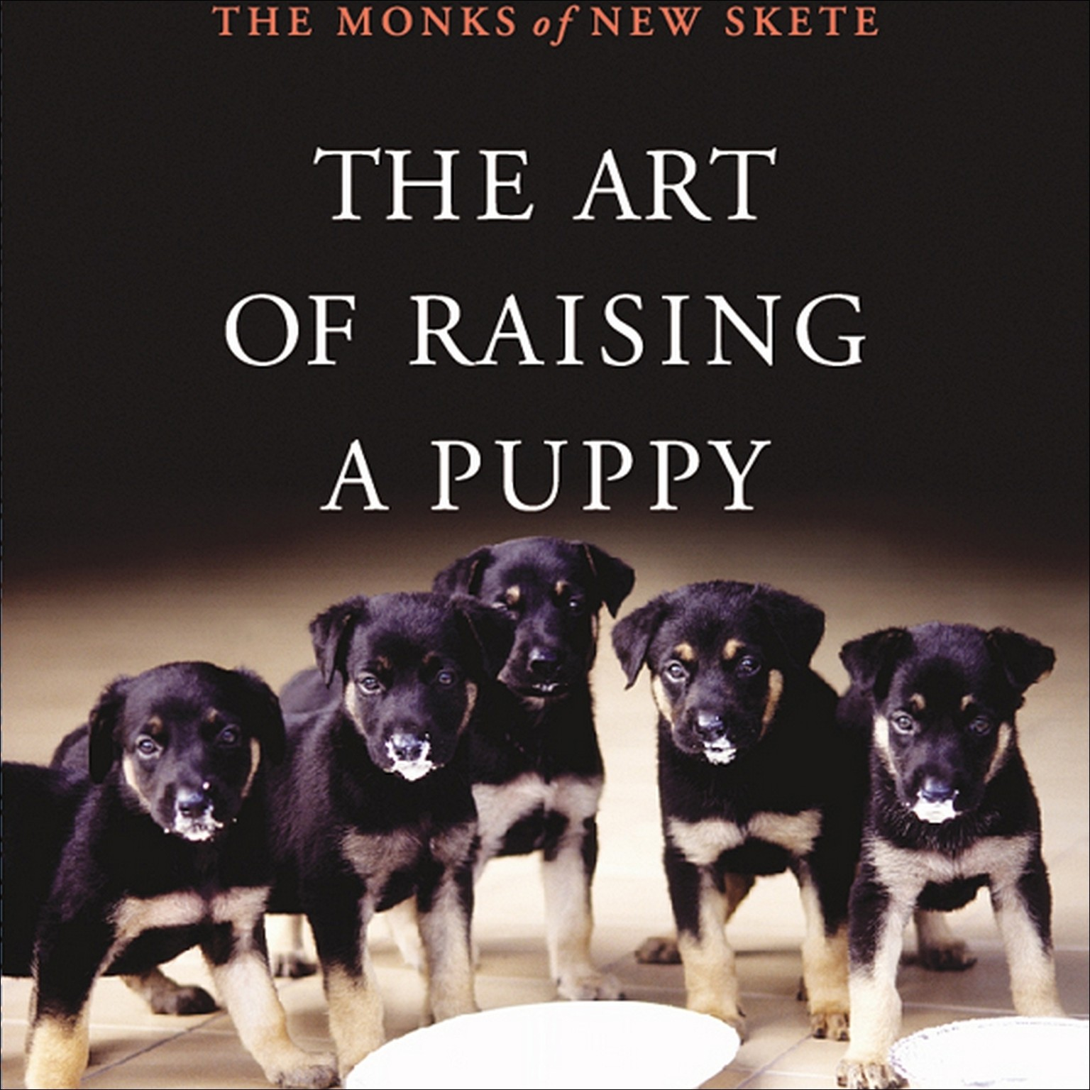 Printable The Art of Raising a Puppy Audiobook Cover Art