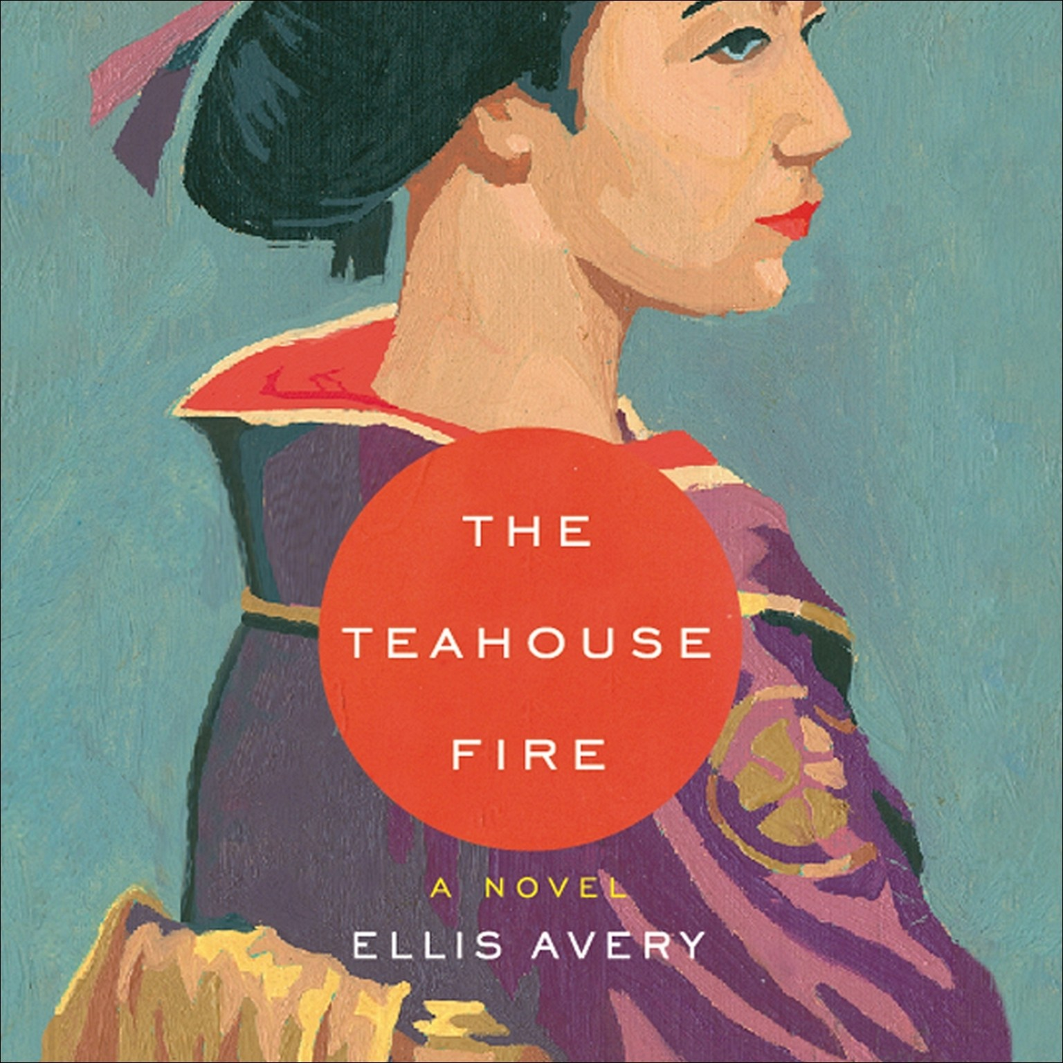Printable The Teahouse Fire Audiobook Cover Art