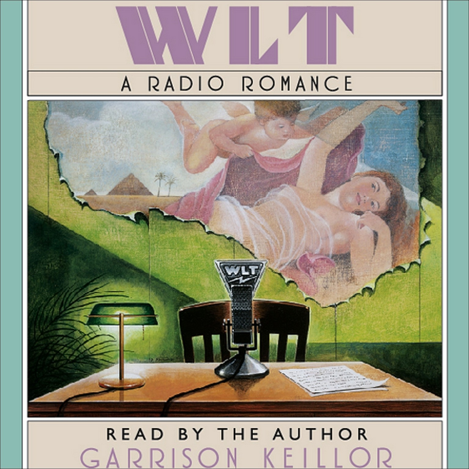 Printable WLT: A Radio Romance Audiobook Cover Art