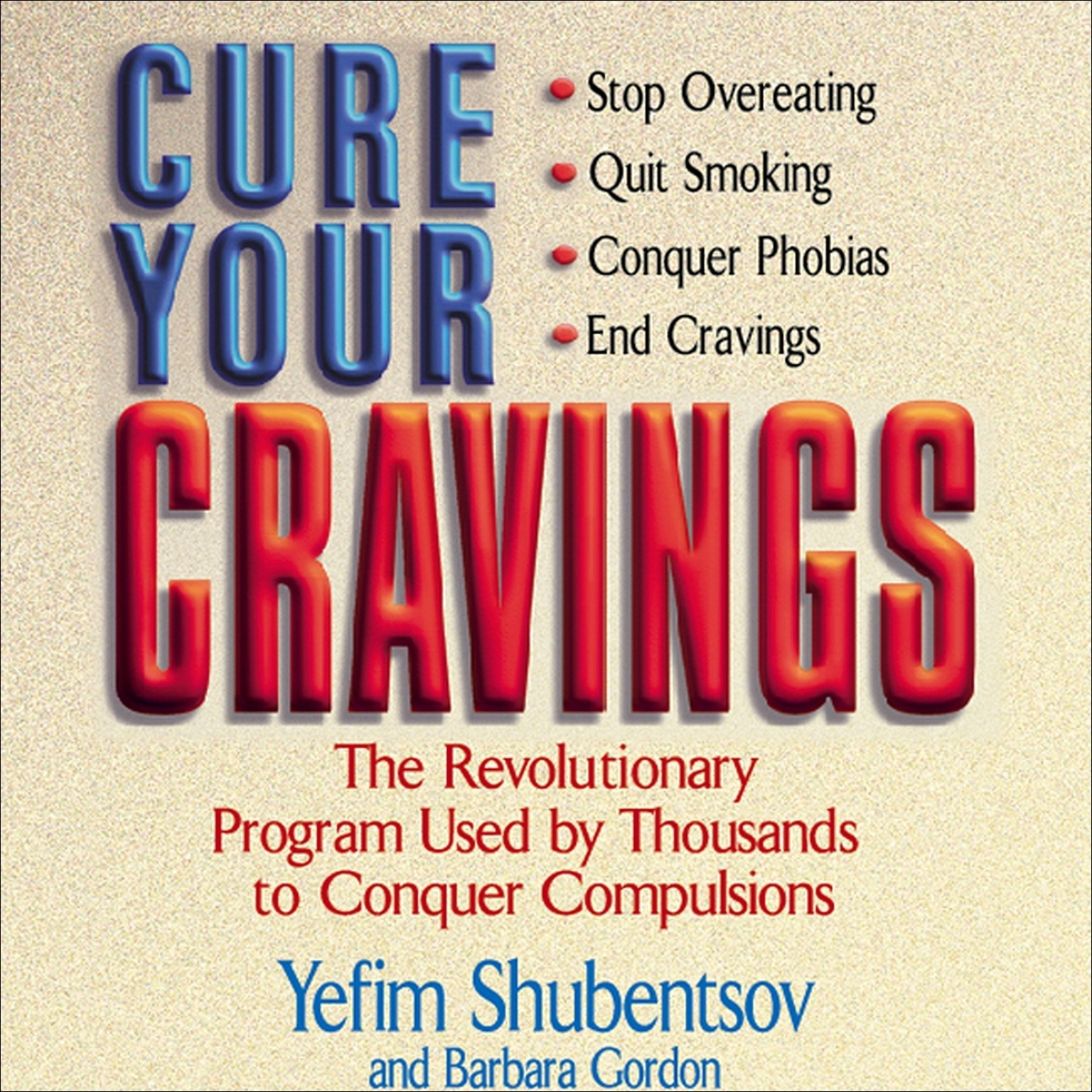 Printable Cure Your Cravings Audiobook Cover Art