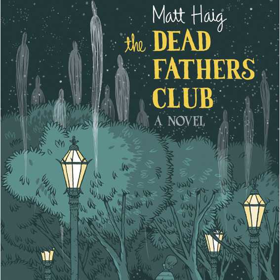 Printable The Dead Fathers Club Audiobook Cover Art