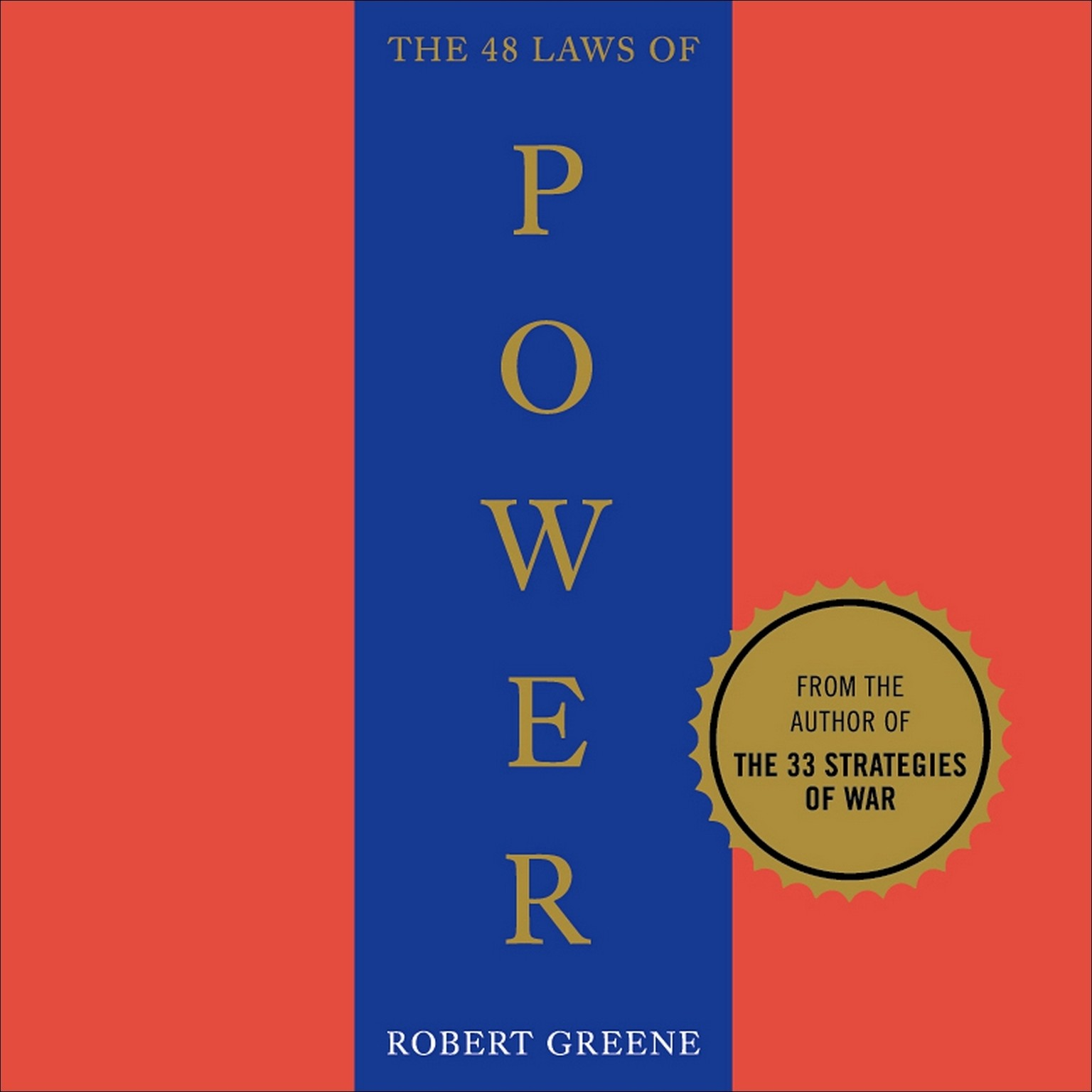 Printable The 48 Laws of Power Audiobook Cover Art