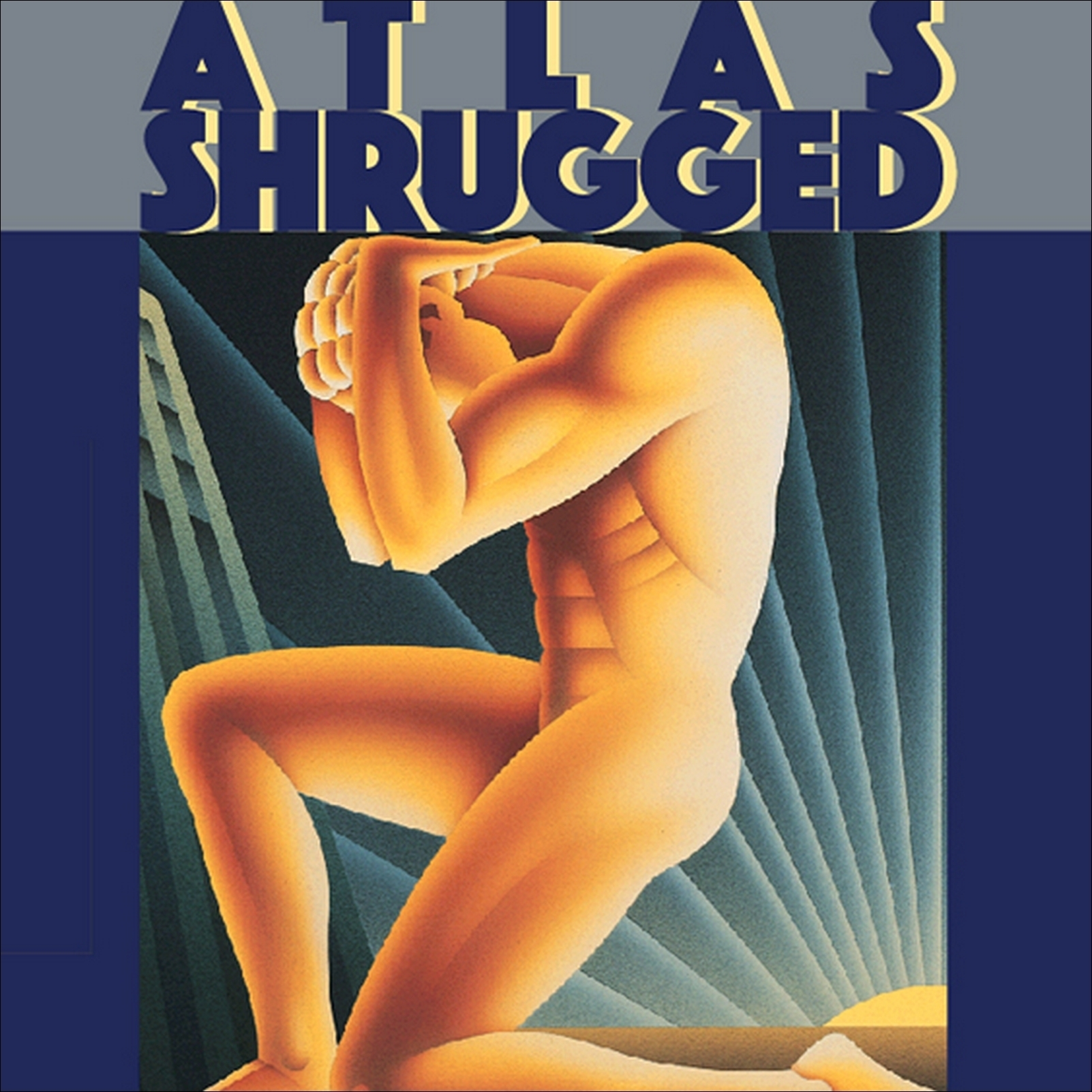 Printable Atlas Shrugged Audiobook Cover Art