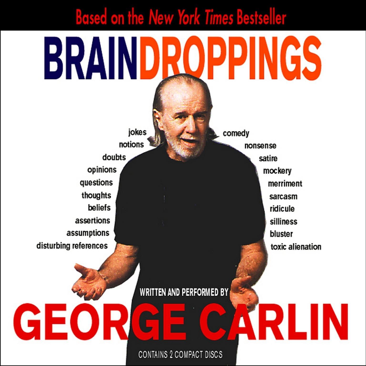 Printable Brain Droppings Audiobook Cover Art