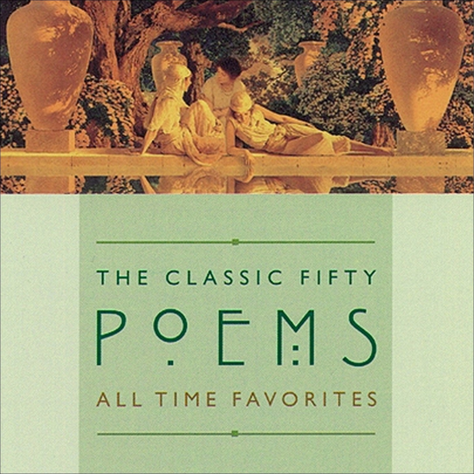 Printable The Classic Fifty Poems Audiobook Cover Art