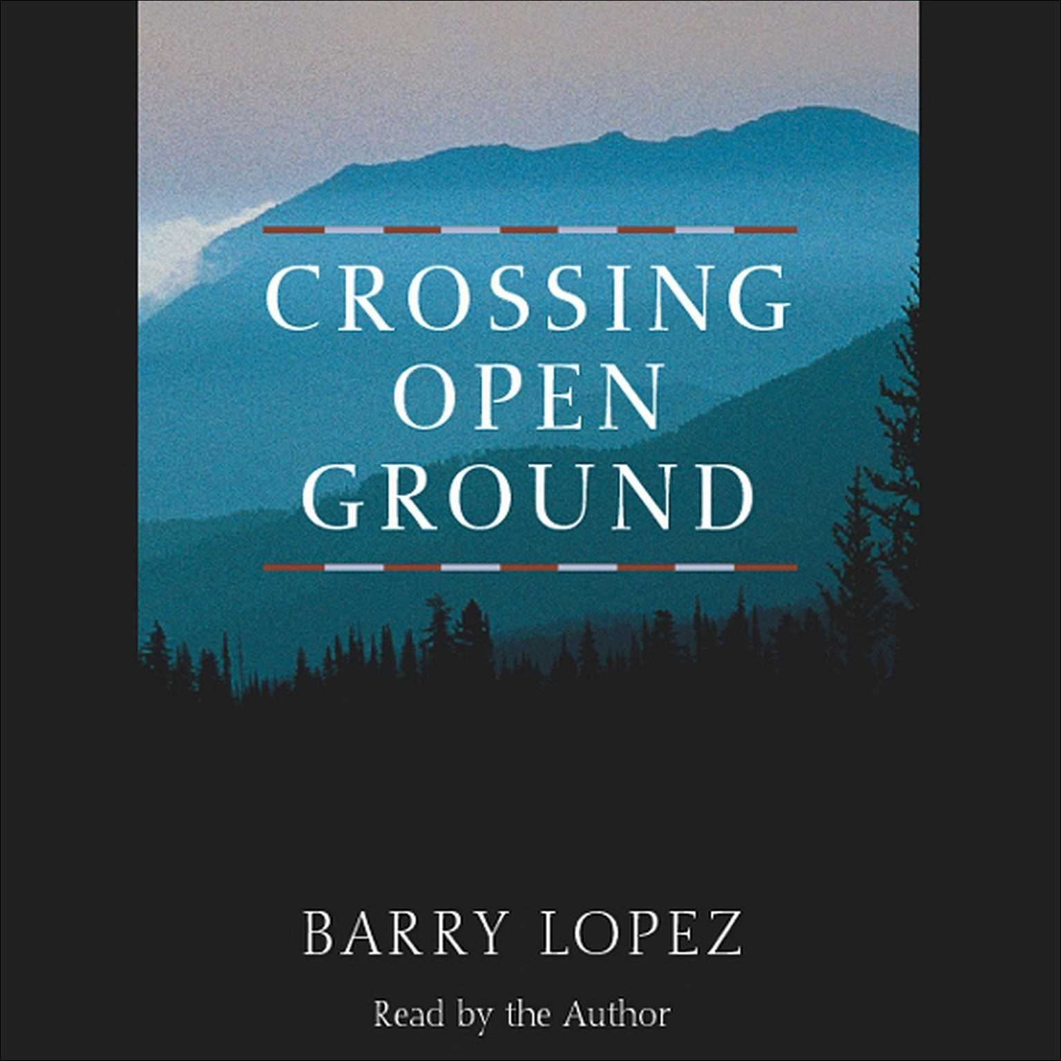 Printable Crossing Open Ground Audiobook Cover Art