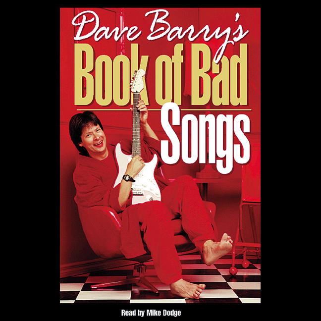 Printable Dave Barry's Book of Bad Songs Audiobook Cover Art