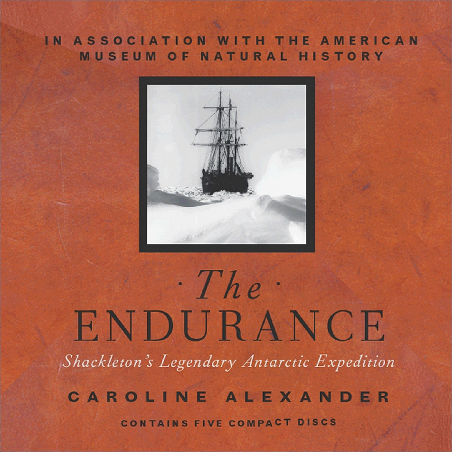 Printable The Endurance: Shackleton's Legendary Antarctic Expedition Audiobook Cover Art