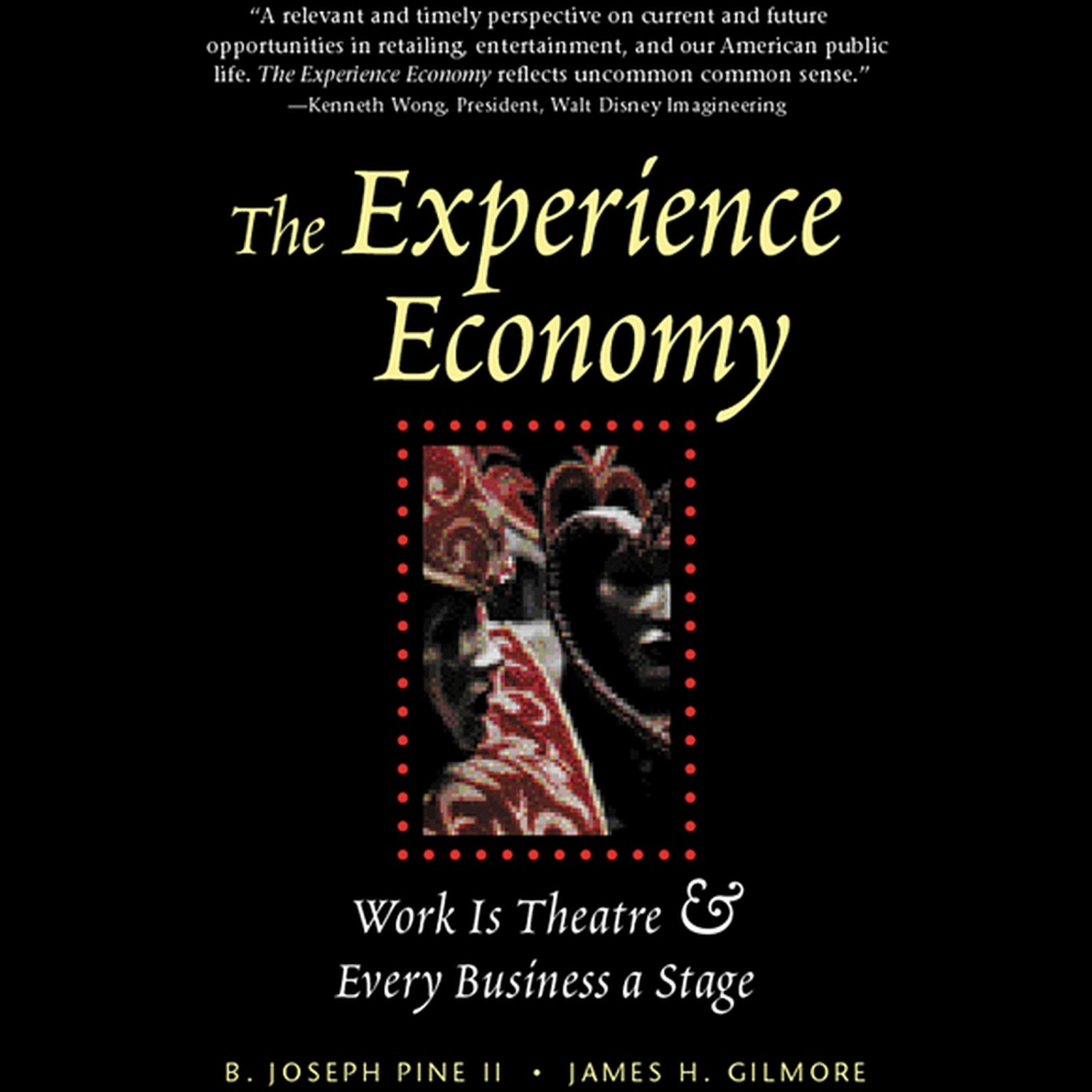 Printable The Experience Economy Audiobook Cover Art